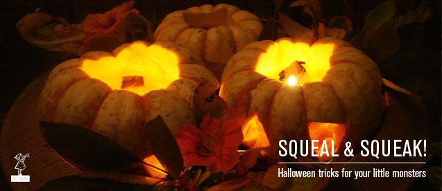 scary squashes