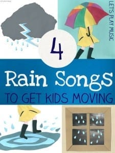 4 Rain Rhymes to Get Kids Moving