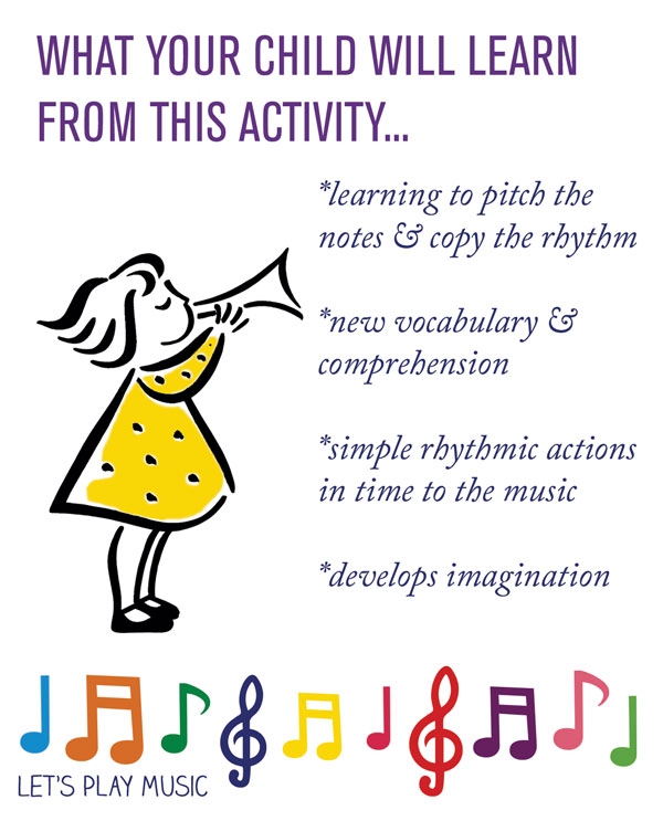 Educational benefits of Incy Wincy Spider - Let's Play Music