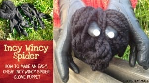 Let's Play Music : Incy Wincy Spider - Puppet Tutorial and Educational Benefits