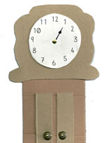 Hickory Dickory Dock: Music & Upcycled Craft Activity
