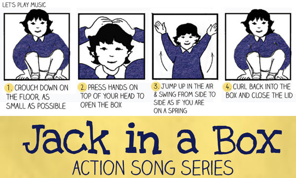 Let's Play Music : Jack in a Box - First Nursery Rhymes & Acton Songs for Babies & Toddlers - The perfect song to get kids moving and ideal for some inside play when you can get your hands on a cardboard box!