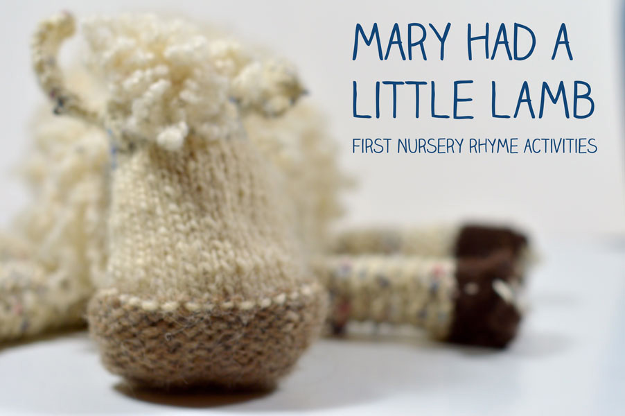 Let's Play Music: Mary Had A Little Lamb - Spring Nursery Rhyme Activities