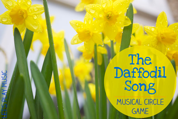 Daffodil Song on friendship crafts activities games and printables