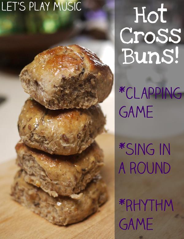 Hot Cross Buns Musical Activities
