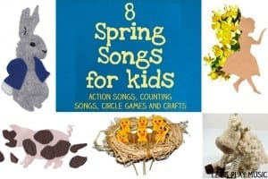 8 Spring Songs for Kids