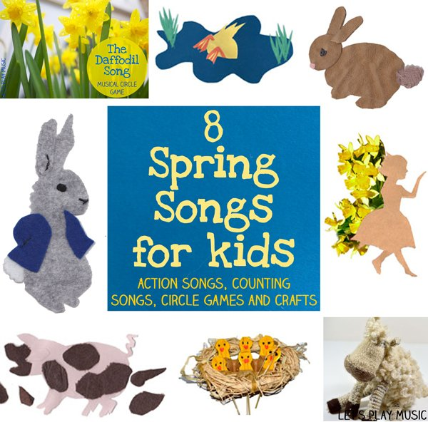 spring songs for kids to sing