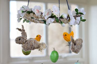 How to knit an Easter Bunny and a Little Easter Chick