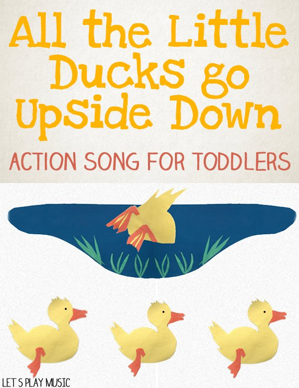 Toddler Action Song about Ducks