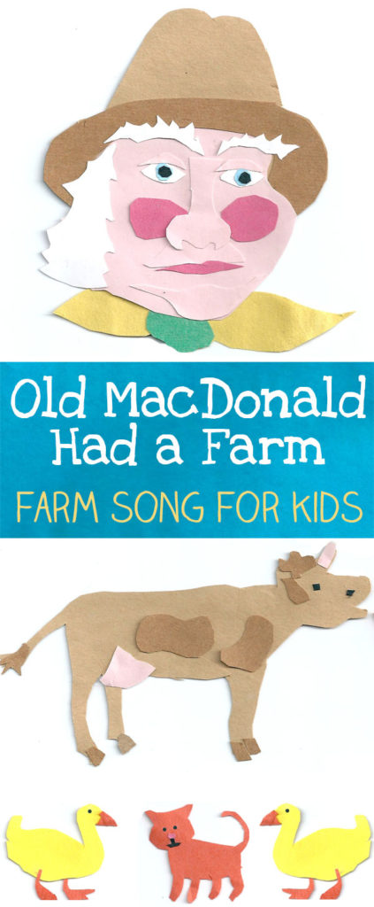 Old MacDonald Had a Farm - Kids Farm Song