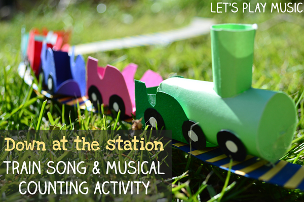 Musical Train Activities from Let's Play Music