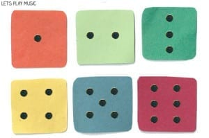 First Piano Lessons: The Dice Game