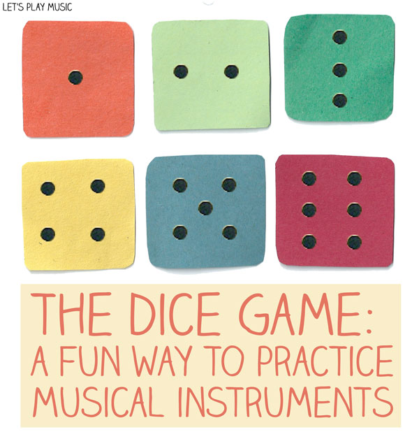 first piano lessons the dice game let 39 s play music. Black Bedroom Furniture Sets. Home Design Ideas