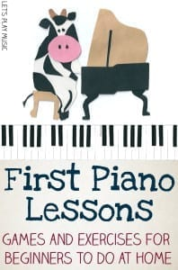 Let's Play Music : First Piano Lessons - Getting Started