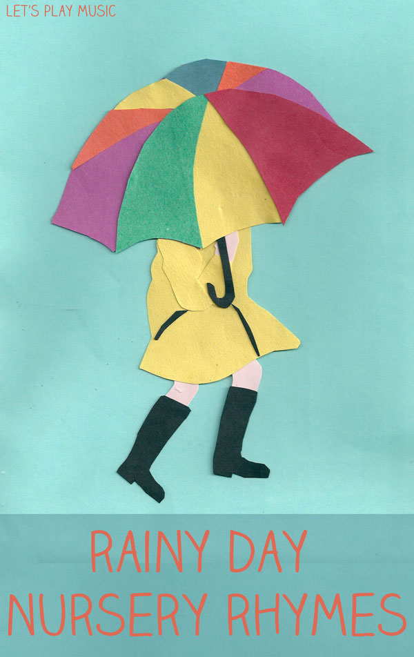 Let's Play Music : The Umbrella Song - Rainy Day Songs - these are the best songs to sing when it's raining outside, and get's kids moving too!