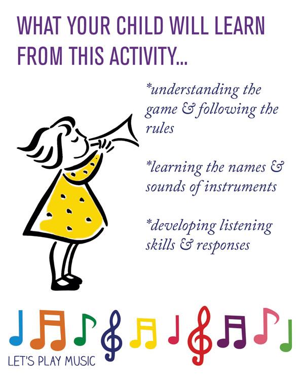 educational benefits of baby bear rhythm and listening