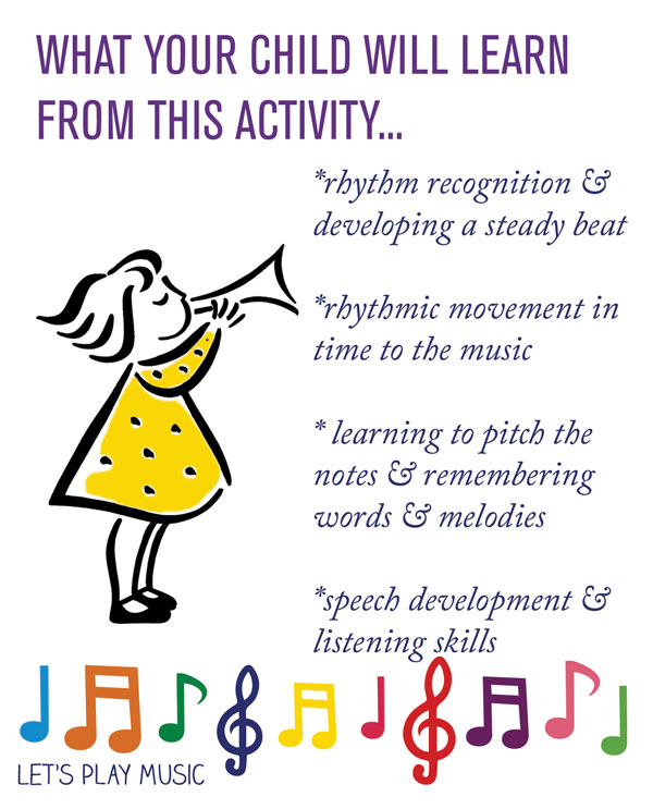 Educational benefits for Horsey Horsey: Let's play Music