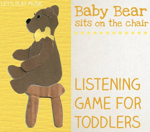 Baby Bear Sits On The Chair - Listening Game for Toddlers