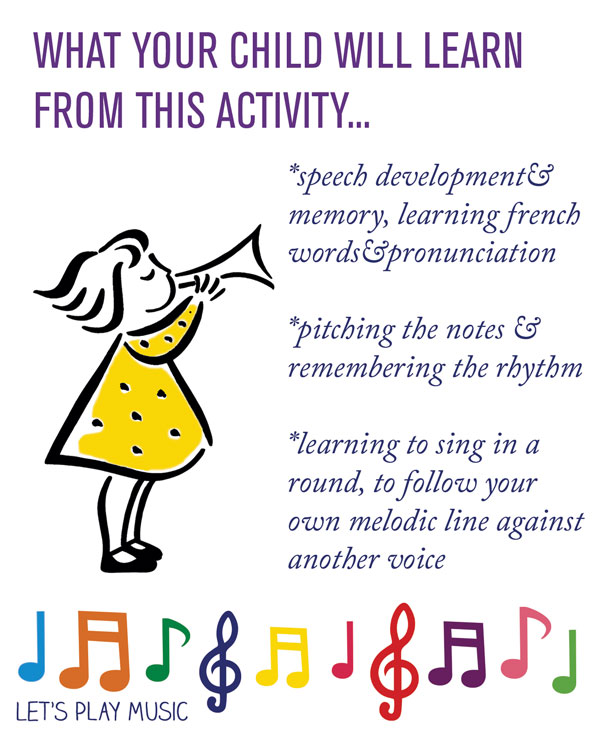 Educational benefits of Frere Jacques - Let's Play Music