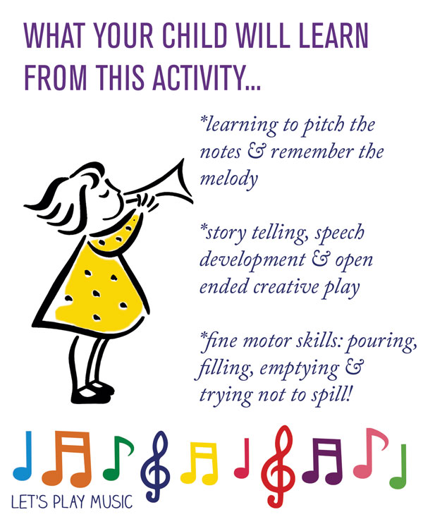 Educational benefits of Polly Put The Kettle On - let's Play Music