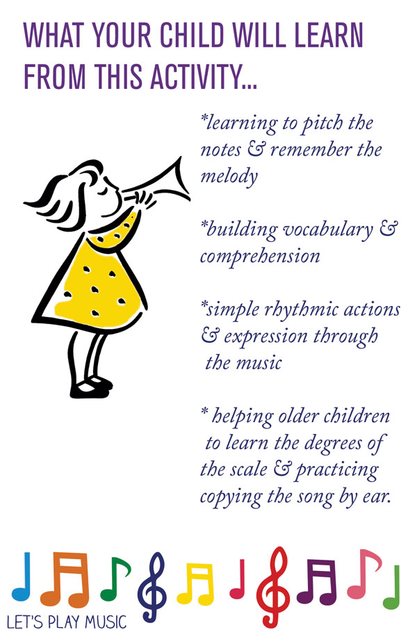 Educational benefits of Twinkle Twinkle Little Star - Let's Play Music