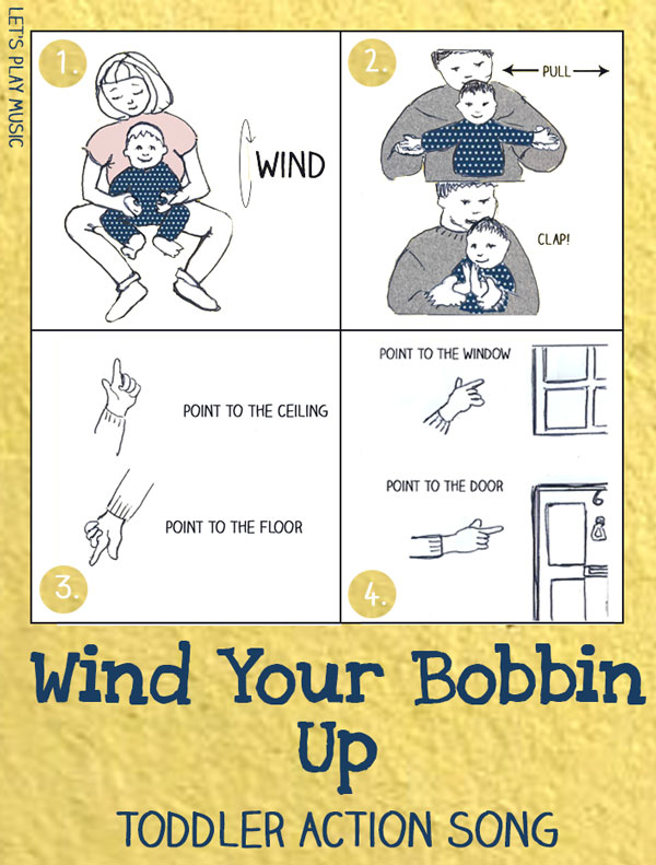 Let's Play Music : Wind Your Bobbin Up - First Nursery Rhymes