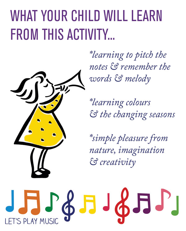The educational benefits of The Autumn Fairy - Let's Play Music
