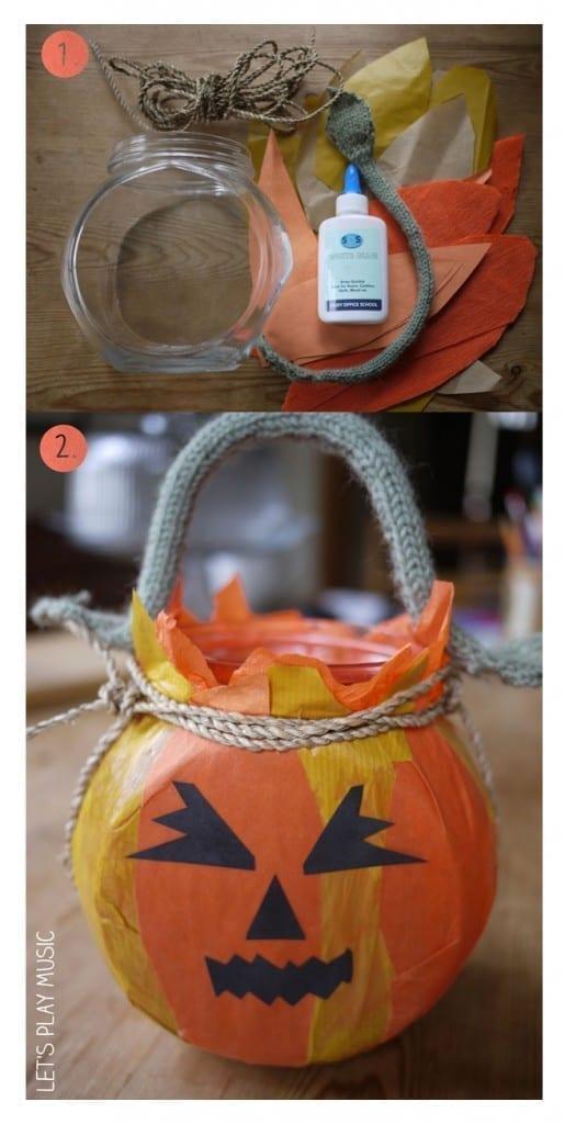 Halloween Lantern for Halloween Song