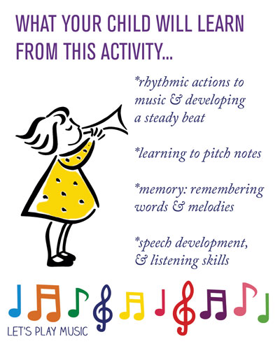 Educational benefits of best songs for babies 6-18 months - Let's Play Music