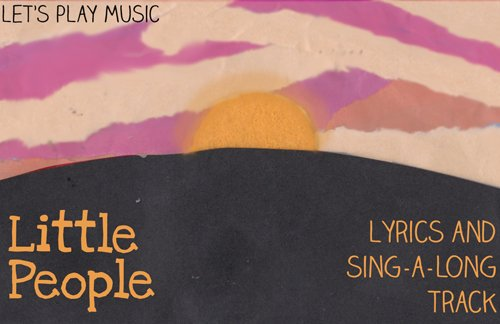 Lullaby Lyrics and Sing a Long track for Little People
