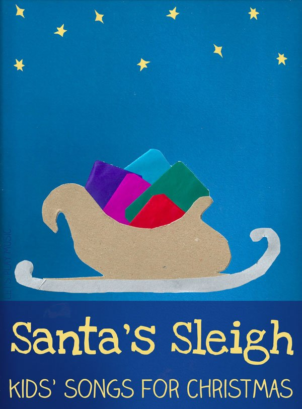Santa's Sleigh Song for Kids