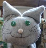 Cat puppet F.I