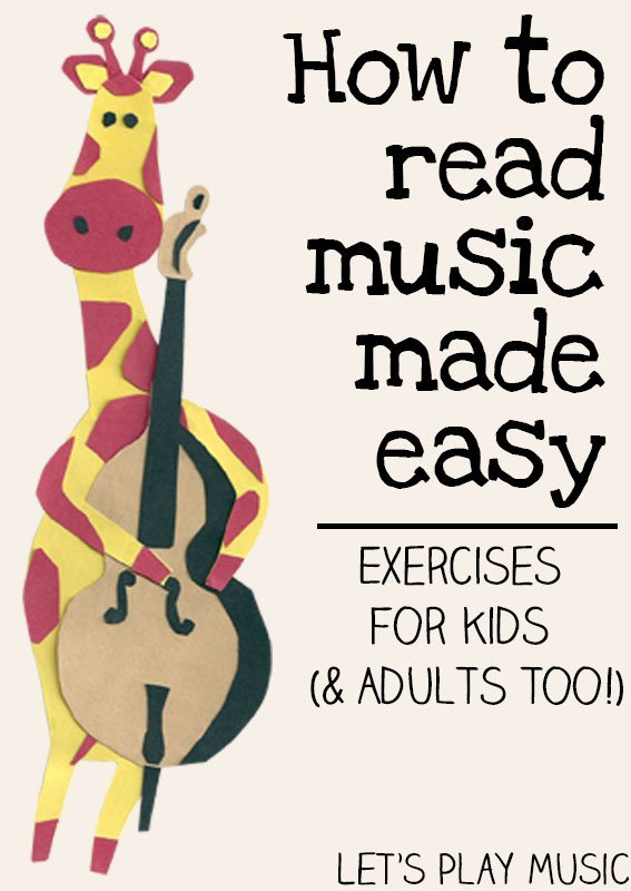 How To Read Music Made Easy. Let's Play Music How To Read Made Easy Exercises For Kids. Worksheet. Learning To Read Music Worksheets At Mspartners.co