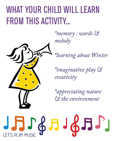 Educational Benefits of the Winter Fairy - Let's Play Music