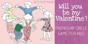 Musical Valentine's Circle Game