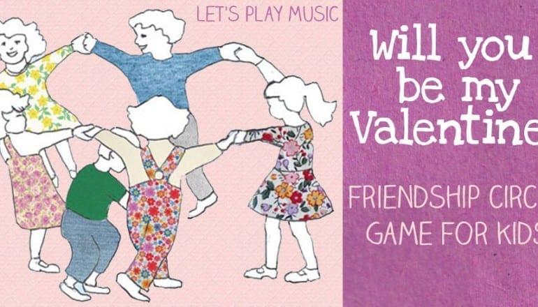 Musical Valentine's Circle Game