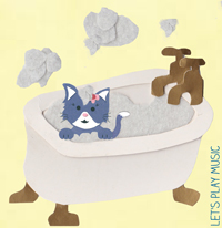 bath time songs - splish splash splosh