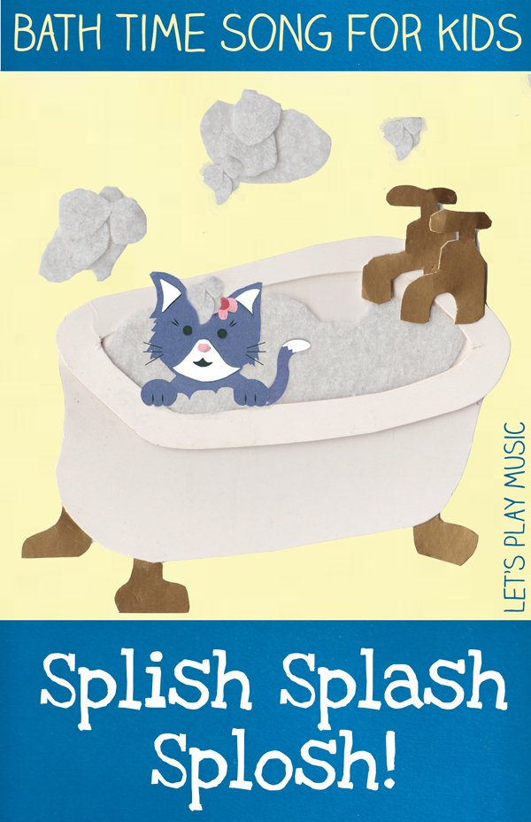 Bath time song for kids