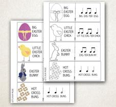 Rhythm Game for Easter