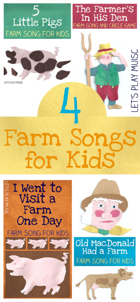 farm songs for preschoolers 4 farm songs for let s play 683