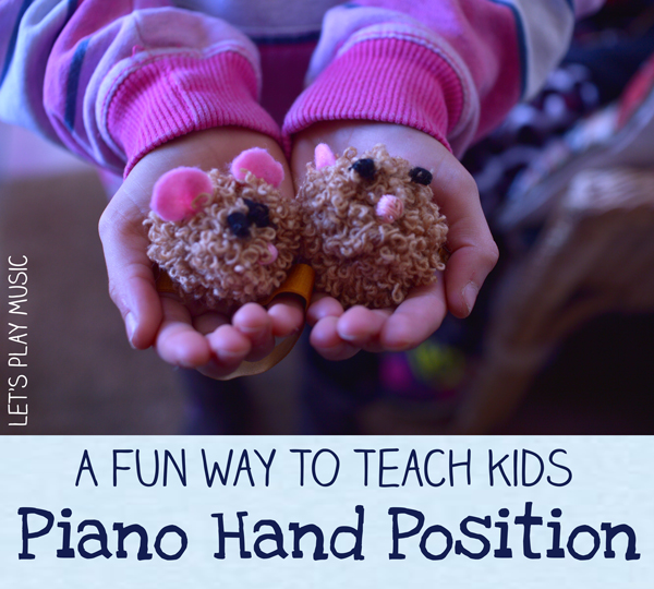 How to teach kids piano hand position in a fun and engaging way