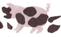 5 little pigs