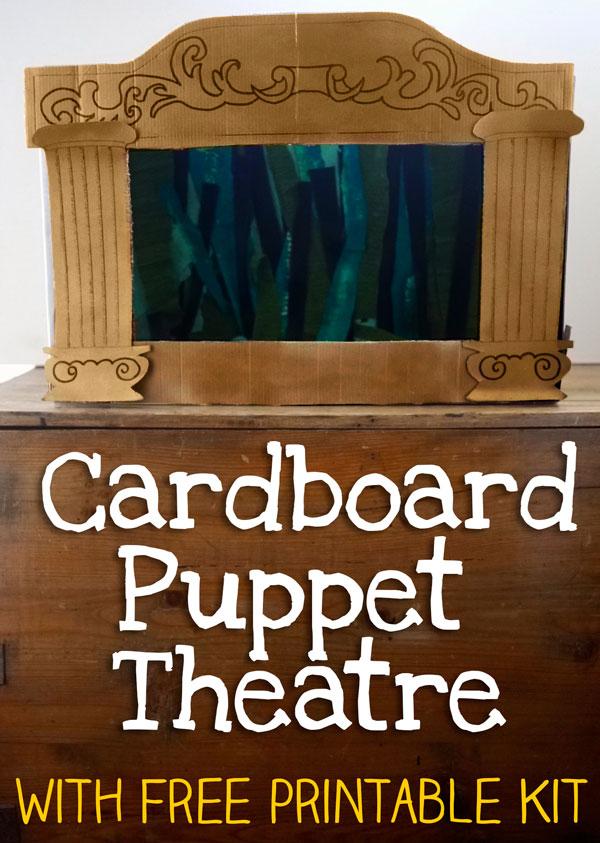 Homemade Puppet Theatre