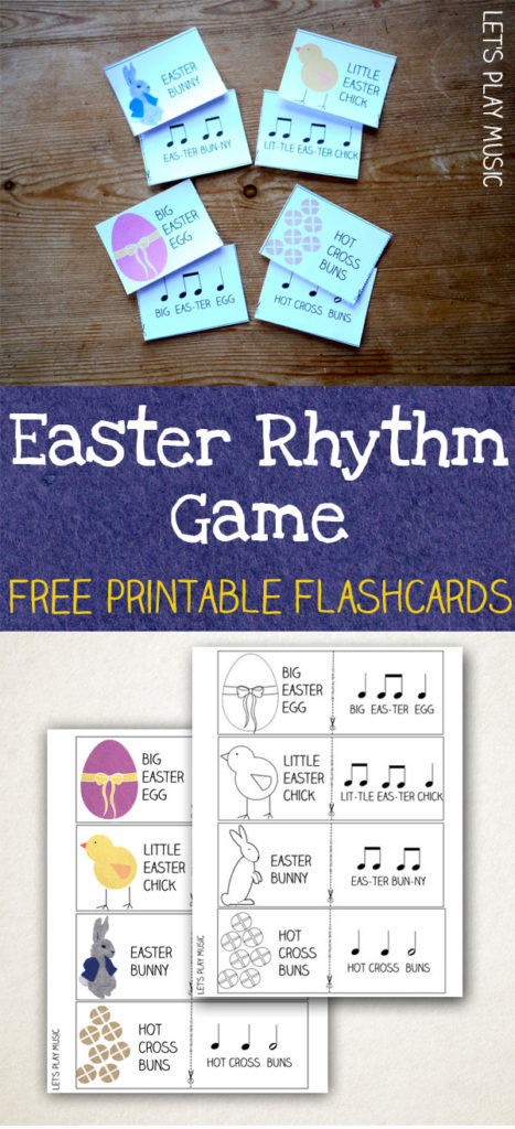 rhythm game for Easter