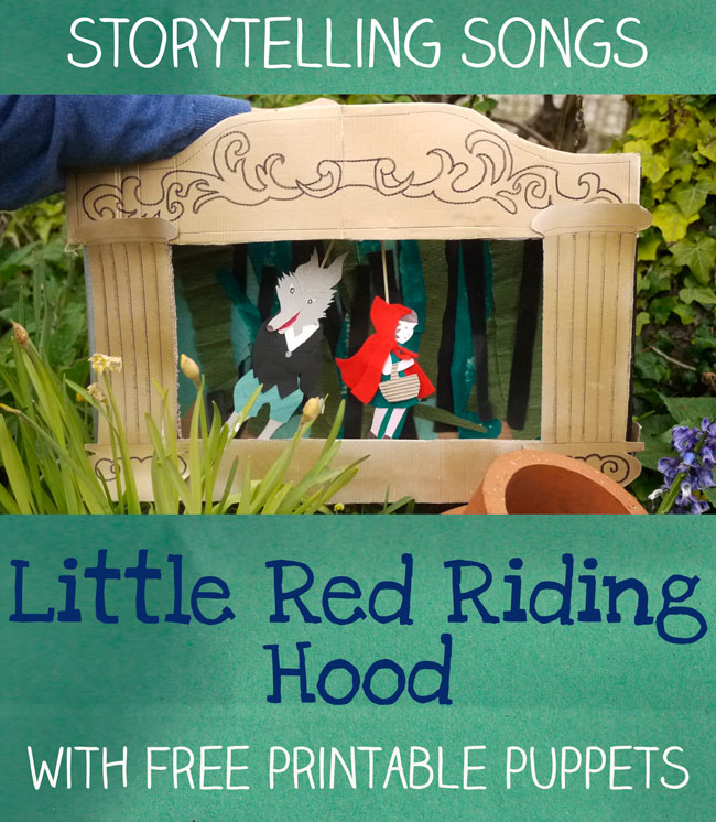 Little red riding hood - story telling songs - letsplaykidsmusic.