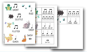 Rhythm Game Flashcards