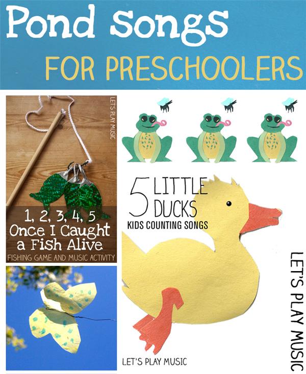 Pond songs for preschoolers