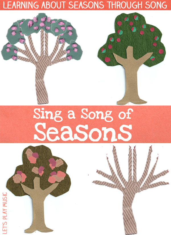Seasons Song for Kids from Let's Play Music