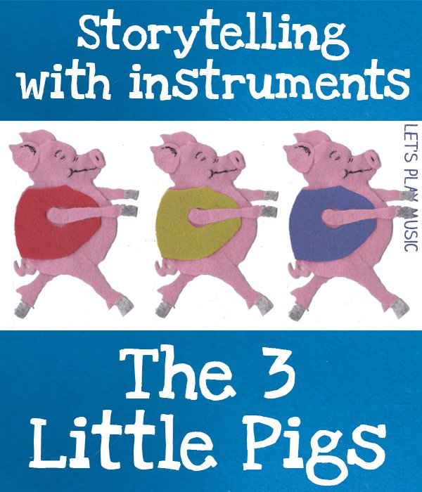 Musical Instruments Winters Three Pigs Voices Learn To Play Classical Part Voice Sheet Music Book Instruction Books & Media