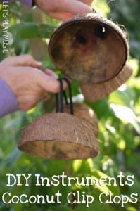 DIY Instruments : Coconut Clip Clops